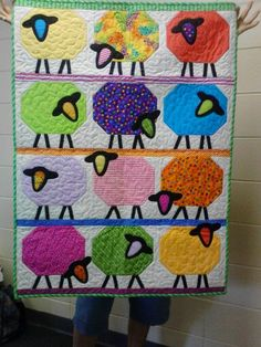 Counting Sheep Quilt - Gail K