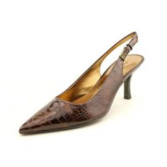 Anne Klein AK Harquin Womens Size 6 Brown Slingback Shoes. Starting bid: $15.00. http://wholesalebootsnshoes.com/