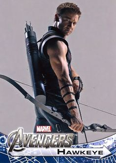 JEREMY RENNER HAWKEYE is the sexiest man on the planet