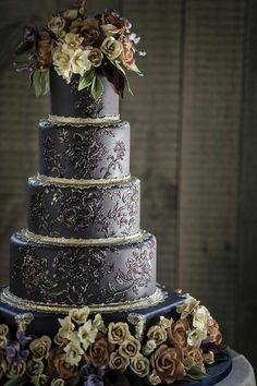 For the Love of Cake! by Garry & Ana Parzych: Custom Wedding Cake Fall | CT | NYC