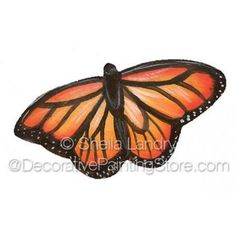 Monarch Butterfly Pin or Magnet ePattern - Sheila Landry