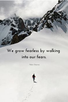 """Lines to Love: Fearless Focus """"We Grow fearless by walking into our fears. Focus Quotes, Feel Good Quotes, My Life Quotes, Positive Quotes, Love Quotes, Motivational Quotes, Funny Quotes, Inspirational Quotes, New Month Quotes"""