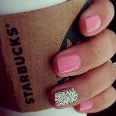 loving the nails and of course the Starbucks