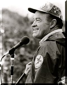 Bob Hope - with our troops.  GREAT patriot!!!  My sweet late father in law served in the Navy and operated on him once.  He was a fine patriot too and an orthopedic surgeon in the Navy for 30 years.  We miss you Gpa!!!