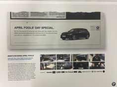 D&AD 2016 BMW Direct Mail