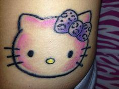 Hello kitty tattoo :)