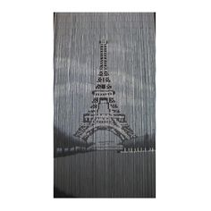 Buy the Tree of Life Beaded Door Curtain online, featuring a monochromatic depiction of the iconic Eiffel Tower. Great value, best prices. Bamboo Beaded Curtains, Beaded Door Curtains, Door Beads, Dining Room Curtains, Acrylic Beads, Curtain Fabric, How To Make Beads, Crystal Beads, Color Patterns