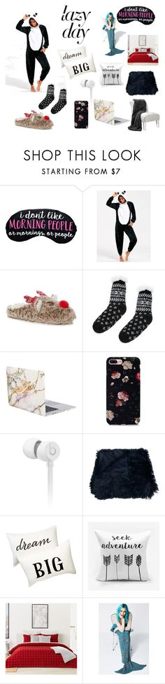 """lazy"" by viviana-candidi-petrova on Polyvore featuring moda, iHome, Beats by Dr. Dre, Nordstrom Rack e Lacoste"