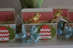 Easter Boxes -- Close Up