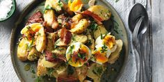 Killer Potato Salad - Matt Moran - Lets Cook That Book Fried Potatoes Recipe, Australian Food, Australian Christmas Food, Vegetarian Recipes, Healthy Recipes, No Sugar Foods, Sugar Free Recipes, Healthy Cooking, Healthy Eating