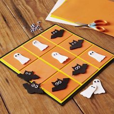 Come to our $2 #Kids Club to #DIY #Halloween Tic-Tac-Toe! Click the link in our profile for event details.
