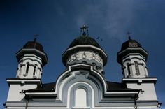 Orthodox Cathedral of Radauti city. Pisa, Statue Of Liberty, Cathedral, Tower, Architecture, Building, Travel, Europe, Cities