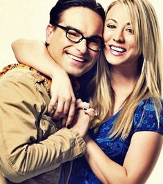 Leonard and Penny. I probably have this already, but I so love this picture of them together.