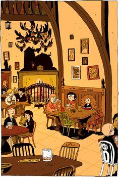 Harry Potter - Hermione - illustration - comics - Zac Gorman