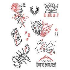 Line Art Tattoos, Dope Tattoos, Black Ink Tattoos, Mini Tattoos, Body Art Tattoos, Small Tattoos, Tattos, Doodle Tattoo, Arm Tattoo