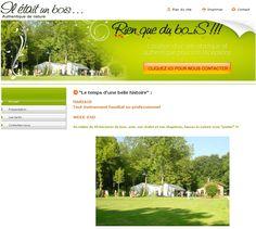 Il était un bois : location de sites atypiques pour les mariages et autres évènements