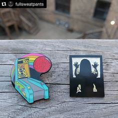 #Repost @fullsweatpants  They're heeeeere... almost. Full Sweatpants drops these incredible new pins this weekend! Better keep your peepers open cause they're gonna go quick! #pindrop #comingsoon  #squadlit #pin #pins #enamelpins #enamelpin #lapelpin #lapelpins #pingame #pinlife #patchgame  #hatpin #hatpins #pingamestrong #pingameproper #pinnation #hatpinsforsale by bbllowwnn