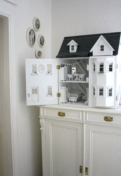 @Jason Stocks-Young Dickerson if we ever finish their doll house we should put the front walls on hinges so they can play from both sides.