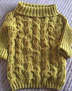 Image Article – Page 723320390134781667 Cable Knitting, Hand Knitting, Jumper Designs, Handgestrickte Pullover, Hand Knitted Sweaters, Knitwear Fashion, Knitting Designs, Crochet Clothes, Knitting Patterns