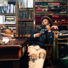 Designer Ouigi Theodore is the founder of Brooklyn Circus/Bkc, a fashion boutique and lifestyle brand