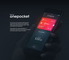 Onepocket on Behance