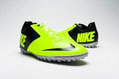 Nike FC247 Bomba II Turf Soccer Shoes - Volt and Black...Available at SoccerPro Now!