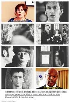 Donna Noble: The girl who can't remember.--Forget the running, this show has a lot of foreshadowing!