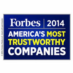 <em>Forbes</em> has named Staff Care's parent company, AMN Healthcare, as one of America's 100 Most Trustworthy Companies out of 8,000 publicly traded companies.