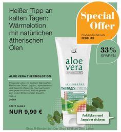 Wellness und Gesundheit: Angebot des Monats Februar -33% - Aloe Vera Thermo...