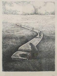 Roland Topor (1938-1997) - Important Book (Le Grand Livre), N/D. Anne-Marie et Roland Pallade Gallery, Lyon, France