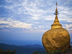 Reisen durch Mynamar - Goldener Tempel