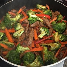 """Quick Beef Stir-Fry I """"After full day of work this is a quick and easy recipe for night. Beef Stir-Fry I """"After full day of work this is a quick and easy recipe for night. Easy Beef Stir Fry, Steak Stir Fry, Crockpot Stir Fry, Beef Stir Fry Sauce, Healthy Stir Fry, Quick Meals To Make, Easy Weeknight Meals, Paleo Dinner, Healthy Dinner Recipes"""