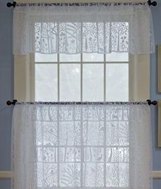 Tree Of Life Lace Tailored Valance - Country Curtains®