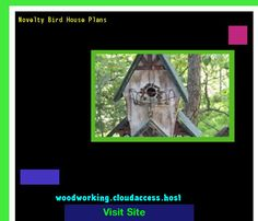 Novelty Bird House Plans 064922 - Woodworking Plans and Projects!