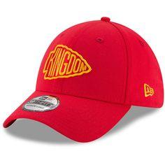 cded6f477b1 Men s Kansas City Chiefs New Era Red Kingdom 39THIRTY Flex Hat