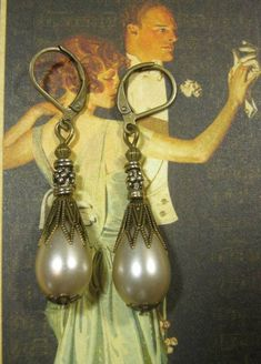 Daisy Buchanan  Great Gatsby Jewelry  Pearl by BohemeBijou on Etsy, $16.00