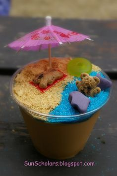 Beach Party- cute idea for summer camp!