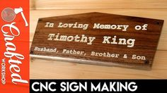 I made a sign in memory of my father-in-law's brother who passed away recently. The simplest projects can sometimes mean the most. Check out the full project https://www.youtube.com/watch?v=oUM2dOtbkVQ Don't Forget to Like Comment and Share! - http://ift.tt/1HQJd81