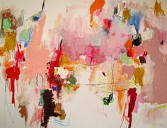 "Saatchi Online Artist: Mary Ann Wakeley; Mixed Media, Painting ""Residue"""