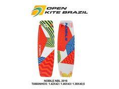Prancha Nobile NBL 2016 em promoção de R$ 3.200 por 2.699Open Kite Brazil.(85) 99655-1616 Tim e Whatsapp