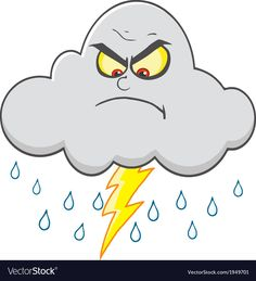 Cartoon weather symbol vector image on VectorStock Pencil Drawings Of Flowers, My Drawings, Flashcards For Kids, Cartoon Clouds, Bujo Doodles, Emoji Pictures, Cute Cartoon Girl, Colouring Pics, Kindergarten Art