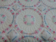 Addicted To Quilts: Circular Embroidery and Unpicking
