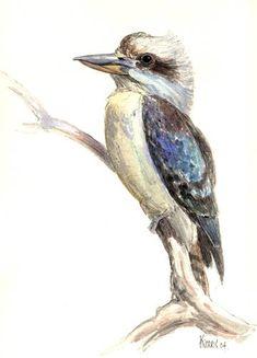 Outdoor Sketching on Watercolour Paper / Forum peinture Bird Painting Acrylic, Watercolor Bird, Watercolor Paintings, Watercolours, Bird Drawings, Animal Drawings, Drawing Birds, Horse Drawings, Drawing Art