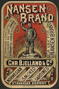 Nansen Brand, 1896 by National Library of Norway, via  #Norway ☮k☮ #Norge