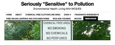 Click Image to Visit the MCS Resources Page at Seriously Sensitive to Pollution