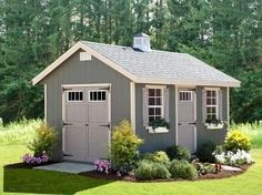 Shed Plans - Shed Plans - Amish Riverside Outdoor Shed Kit 10x16. Would love this shed instead of the ugly one I have! - Now You Can Build ANY Shed In A Weekend Even If Youve Zero Woodworking Experience! Now You Can Build ANY Shed In A Weekend Even If You've Zero Woodworking Experience!