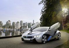 BMW i8 Concept, future car