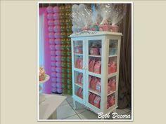 Cristaleira para decoração de festa , para lembranças Beth Decora whatsapp 9325-2545