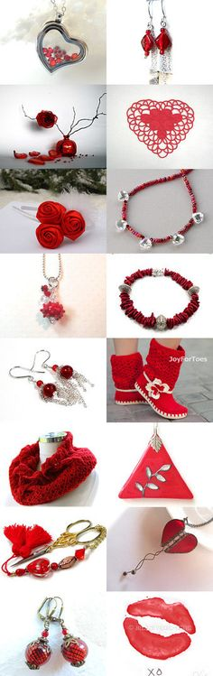 Something Red Hot When It's Cold Outside by Allison and Sheryl on Etsy--Pinned with TreasuryPin.com