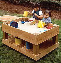 potable sandbox plan #diy - The sandbox is such important early education!